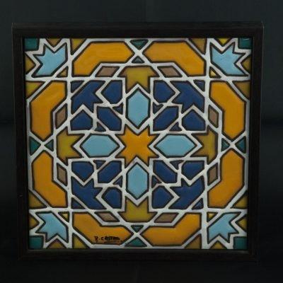 azulejo_arabe_enmarcado