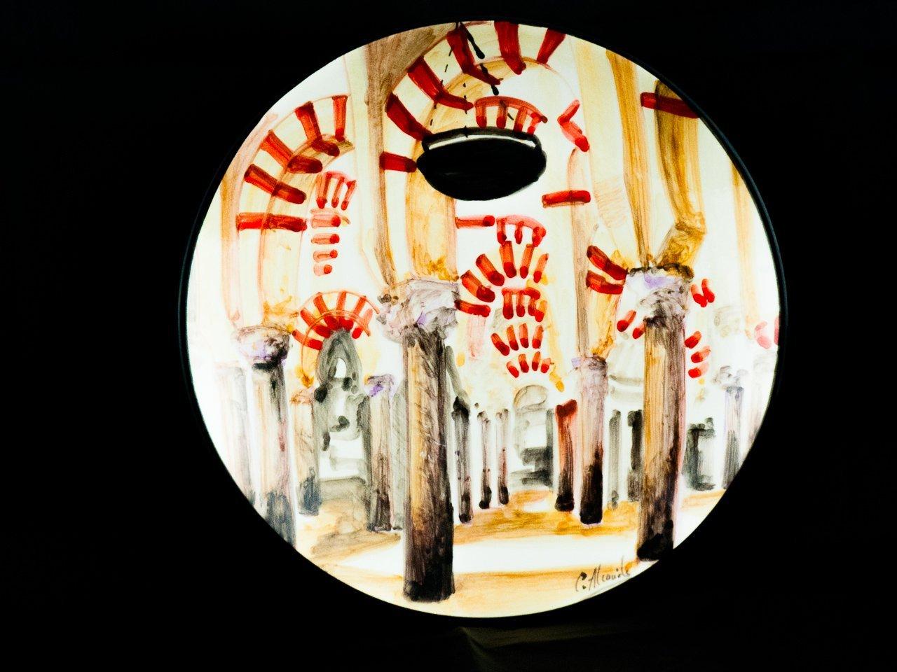 Plato Mezquita ceramica la rambla