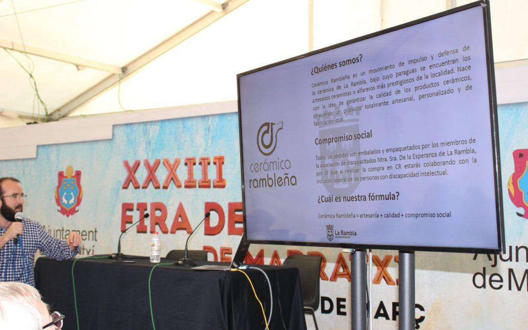 Cerámica Rambleña como caso de éxito en la 'Fira del Fang' de Marratxí