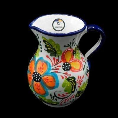 Comprar-jarra-de-agua-1-litro-blanca-decorada-modelo-01-1