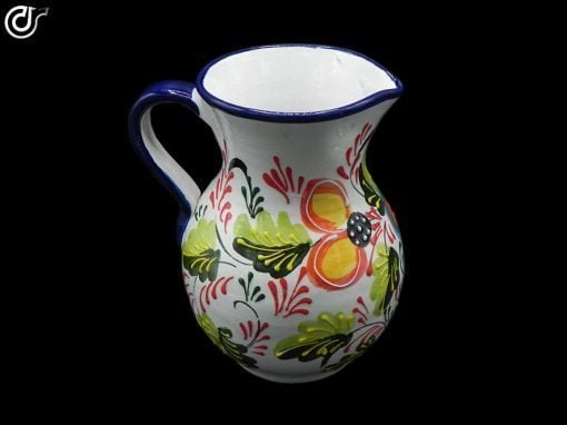 Comprar-jarra-de-agua-1-litro-blanca-decorada-modelo-01-3
