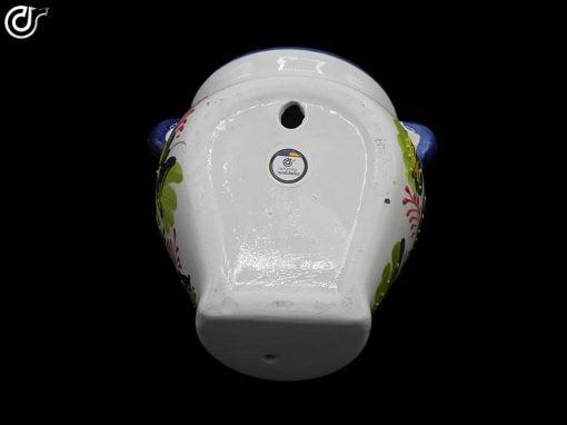 Comprar-maceta-de-pared-orza-blanca-decorada-modelo-02-6