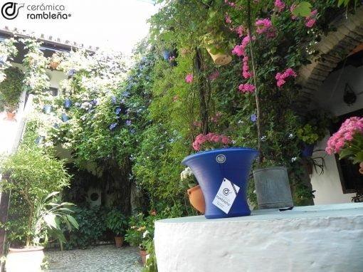 Maceta-pared-patios-de-Cordoba-azul-tradicional-05