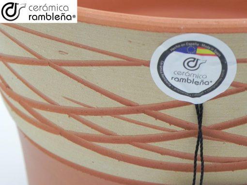 Maceta-de-barro-rojo-rustica-hilo-modelo-J04-03
