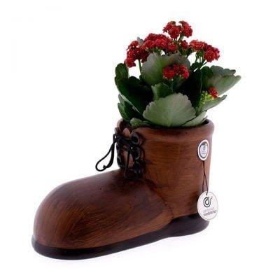comprar-centro-de-mesa-zapato-bota-marron-01