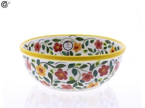 comprar-ensaladera-bol-ceramica-decorado-amarillo-modelo-04-01