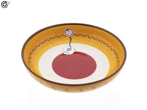 comprar-ensaladera-bol-ceramica-decorado-blanco-modelo-06-02