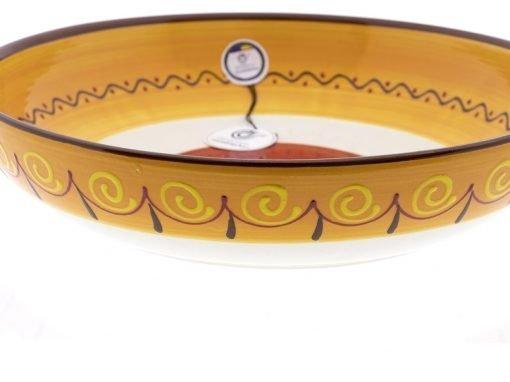 comprar-ensaladera-bol-ceramica-decorado-blanco-modelo-06-03