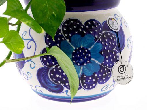 comprar-maceta-pared-olla-azul-modelo-D15-04
