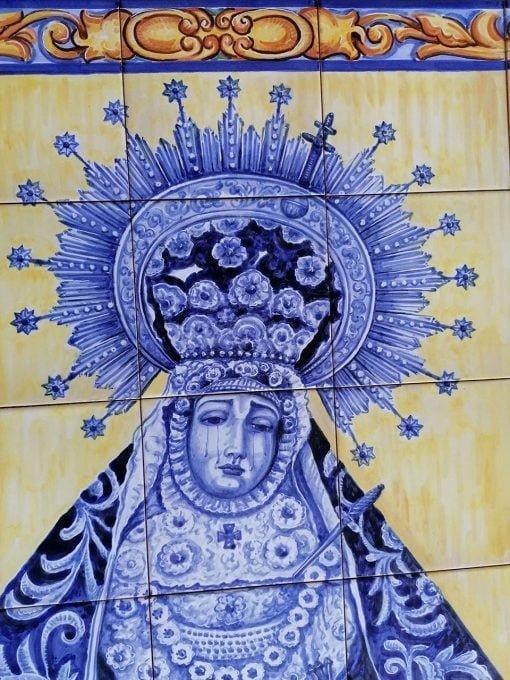 comprar-mural-de-pared-mural-ceramica-virgen-de-los-dolores-cordoba-2