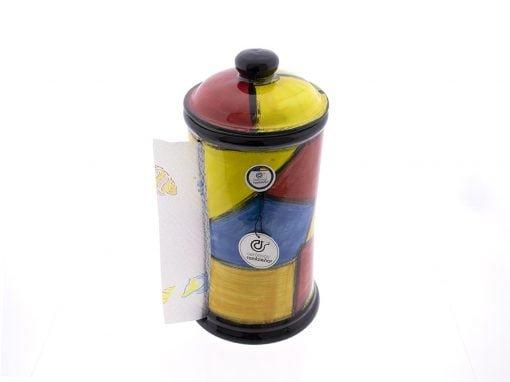 comprar-portarrollos-de-cocina-portarrollos-ceramica-decorado-tutti-modelo-02-02