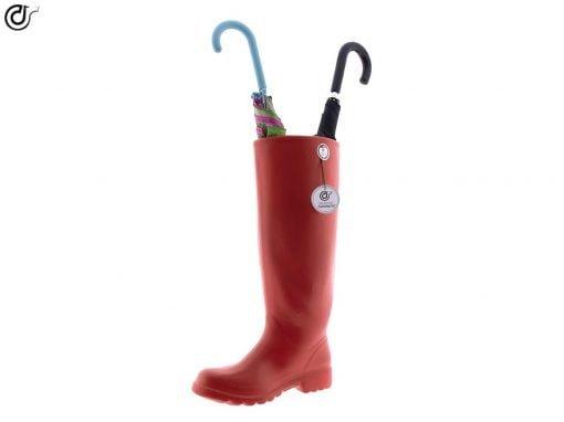 comprar-paraguas-original-bota-decorado-rojo-modelo-03-02