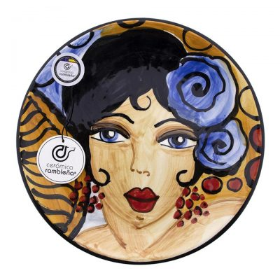 comprar-plato-pared-decorado-flamenca-modelo-D14-01