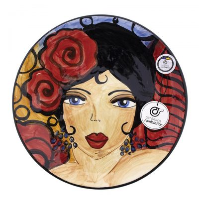 comprar-plato-pared-decorado-flamenca-modelo-D15-01