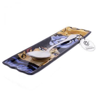 comprar-soporte-cucharas-decorado-flamenca-azul-modelo-06-01
