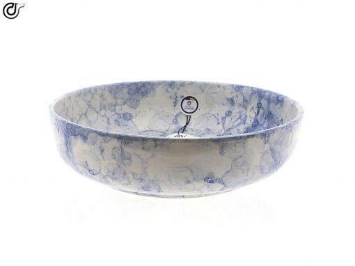 comprar-ensaladera-Bol-decorado-burbujas-Azul-Modelo-09-01