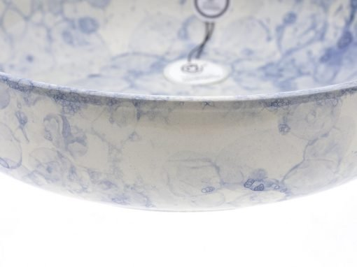 comprar-ensaladera-Bol-decorado-burbujas-Azul-Modelo-09-03