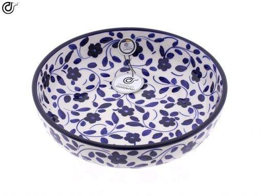 comprar-ensaladera-bol-ceramica-decorado-azul-modelo-03-2
