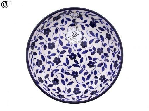 comprar-ensaladera-bol-ceramica-decorado-azul-modelo-03-3