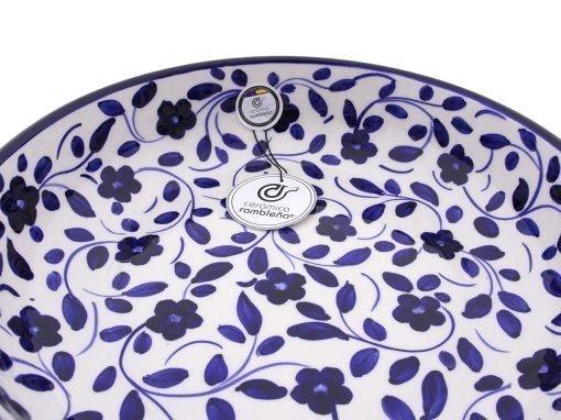 comprar-ensaladera-bol-ceramica-decorado-azul-modelo-03-4