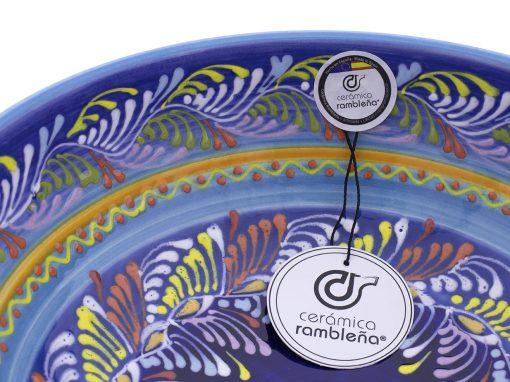 comprar-ensaladera-bol-decorado-azul-modelo-13-04