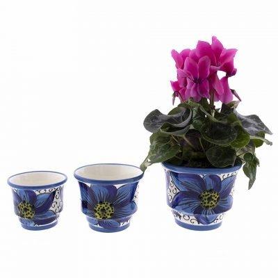 comprar-maceta-suelo-conjunto-x3-azul-decorada-modelo-d38-01