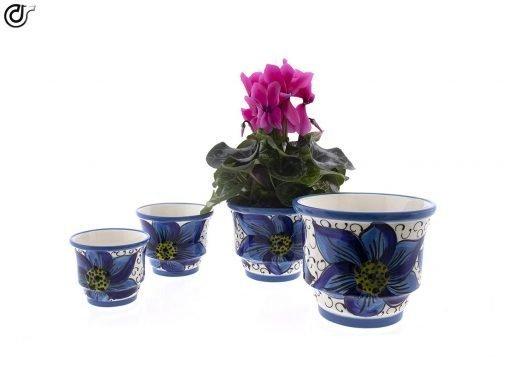 comprar-maceta-suelo-conjunto-x4-azul-decorada-modelo-d37-01
