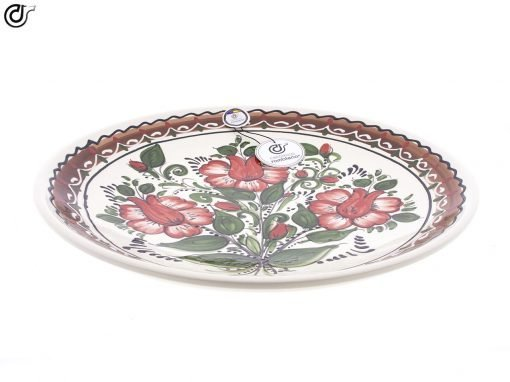comprar-plato-pared-de-barro-blanco-decorado-modelo-d33-02