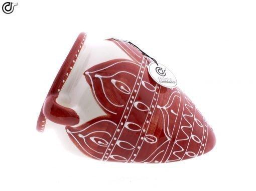 comprar-maceta-pared-orza-rojo-modelo-d55-01