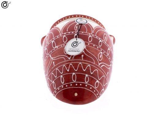 comprar-maceta-pared-orza-rojo-modelo-d55-04