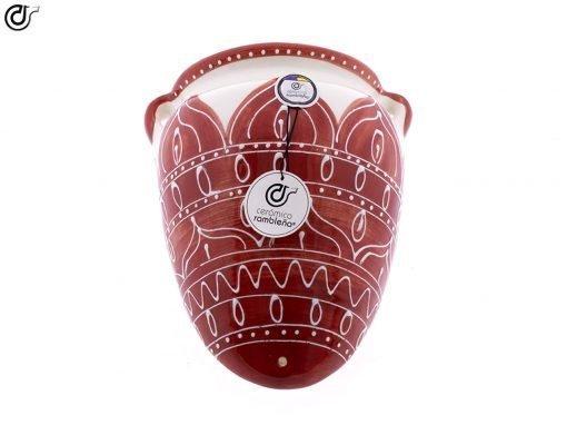 comprar-maceta-pared-orza-rojo-modelo-d55-05
