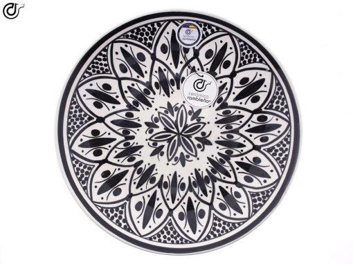 comprar-plato-decorativo-pared-barro-blanco-modelo-d35-01
