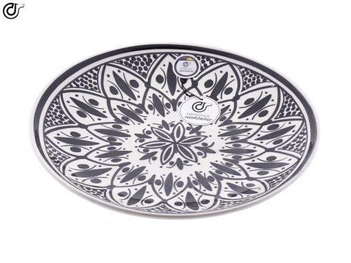 comprar-plato-decorativo-pared-barro-blanco-modelo-d35-03