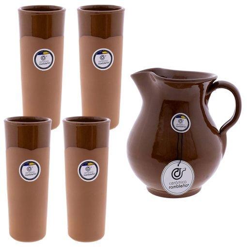 comprar-juego-4-tubos-de-barro-y-jarra-1.5-litros-01