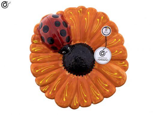 comprar-insecto-mariquita-mariquita-ceramica-flor-naranja-01