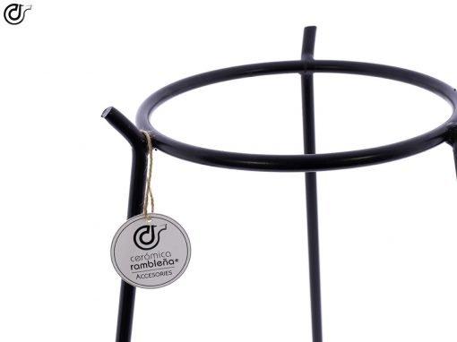 comprar-macetero-decorativo-en forja-Macetero-con patas-Modelo-F102-03
