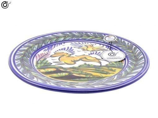 comprar-plato-de-pared-decorado-monteria-conejo-modelo-d38-02