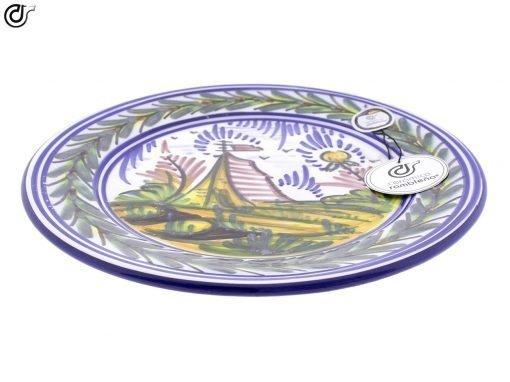 comprar-plato-de-pared-decorado-monteria-tienda-campaña-modelo-d40-02