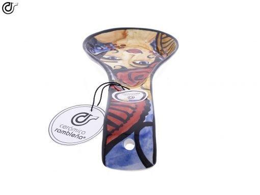 comprar-soporte-cucharas-decorado-flamenca-rojo-modelo-08-05